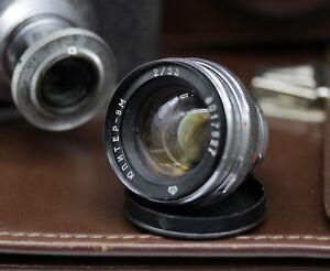 Jupiter-8m-Objektiv-Kiev-Contax-RF-Kamera-UdSSR-Contax-RF-Vintage-sowjetischen-2-53