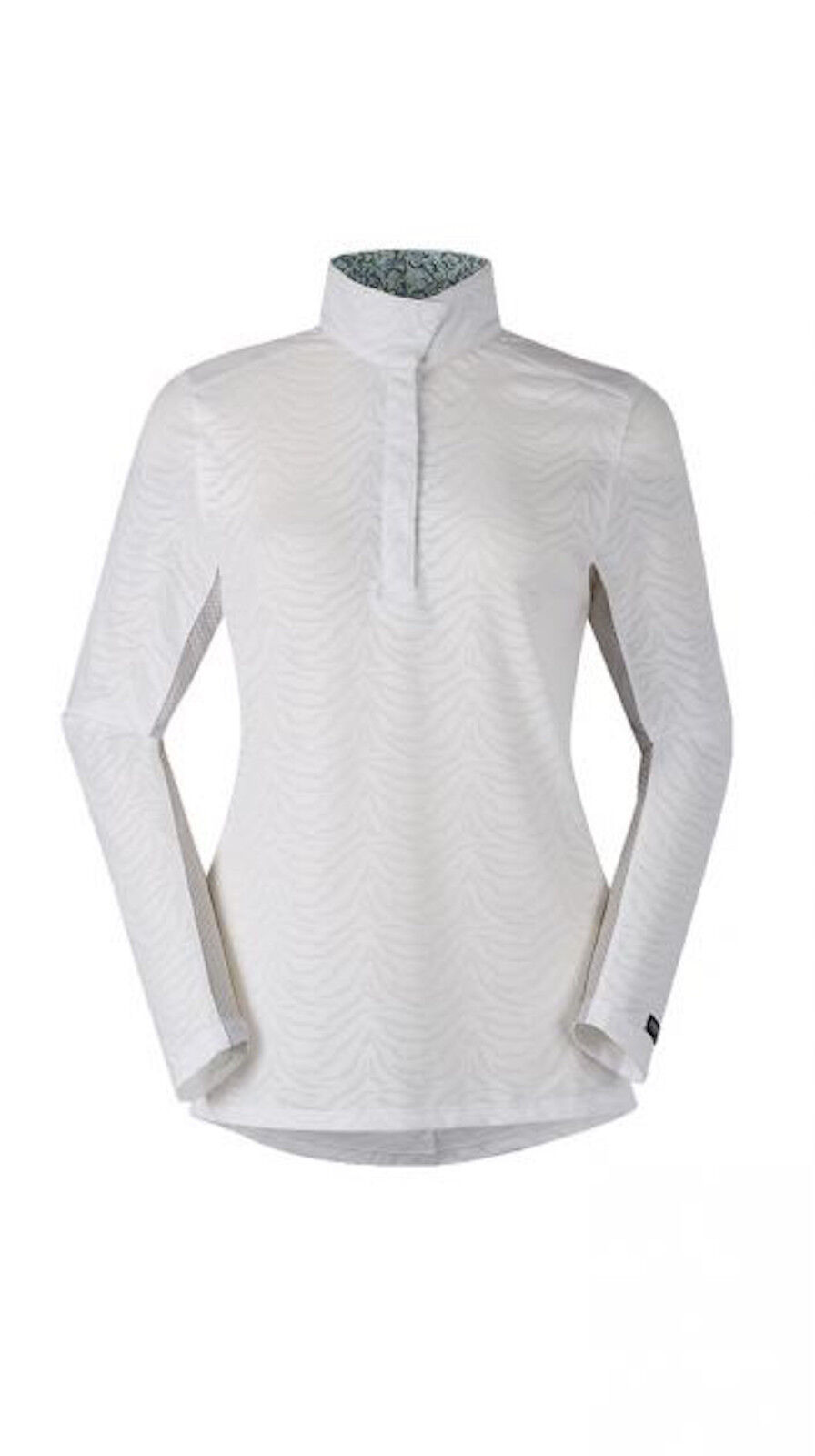 Kerrits No Fault Show Shirt-L-White  Animal  online-shop