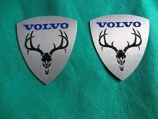 volvo moose emblem badge 2PCS s40 s60 xc90 850 s70 s80 v70 v50 240 940