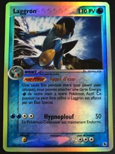 Carte-Pokemon-LAGGRON-13-109-Holo-Reverse-Bloc-ex-FR-Proche-du-NEUF