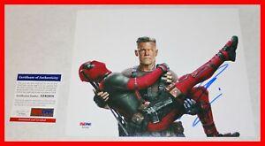 Rare-Josh-Brolin-SIGNED-Cable-Deadpool-2-8X10-Picture-Poster-PSA-JSA