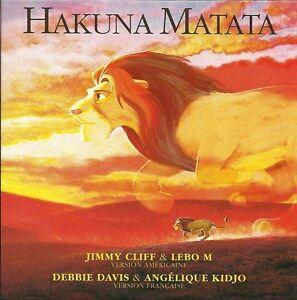 Jimmy-Cliff-CD-Single-Hakuna-Matata-France-EX-EX