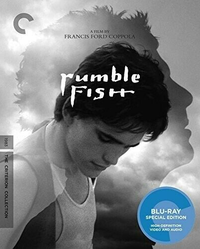 Rumble Fish (The Criterion Collection, Mastered in 4K) BLU-RAY NEW