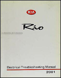 details about 2001 kia rio electrical troubleshooting manual wiring diagram original 2001 Kia Sephia Wiring Diagram
