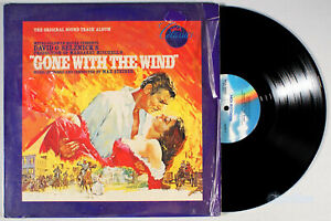 Gone-With-the-Wind-1980-Vinyl-LP-PLAY-GRADED-Soundtrack-Max-Steiner