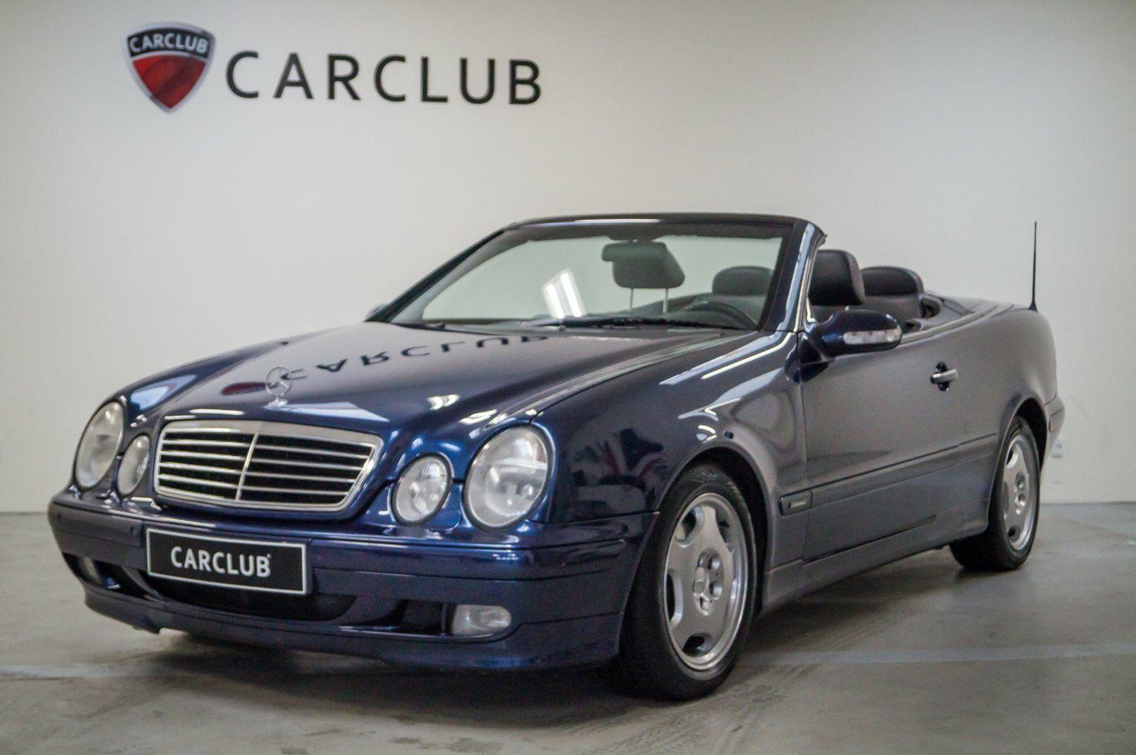Mercedes CLK320 3,2 Cabriolet Elegance aut. 2d - 119.900 kr.