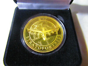 U.S United States ArmyB-52 StratofortressBronze Plated Challenge Coin