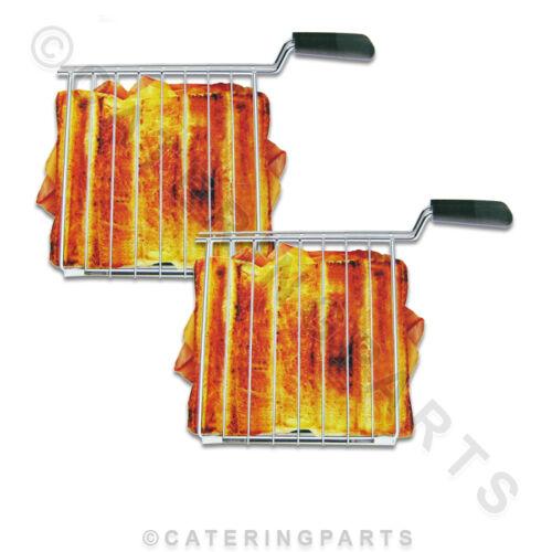 00510 DUALIT Lite Modello Sandwich Toaster GABBIA GABBIE 2 Per Confezione Ricambio Originale