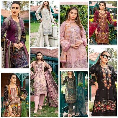 Shalwar kamees Pakistan Made Maria B Inspiré Pelouse 2020 Eid Stock 3 Pièces
