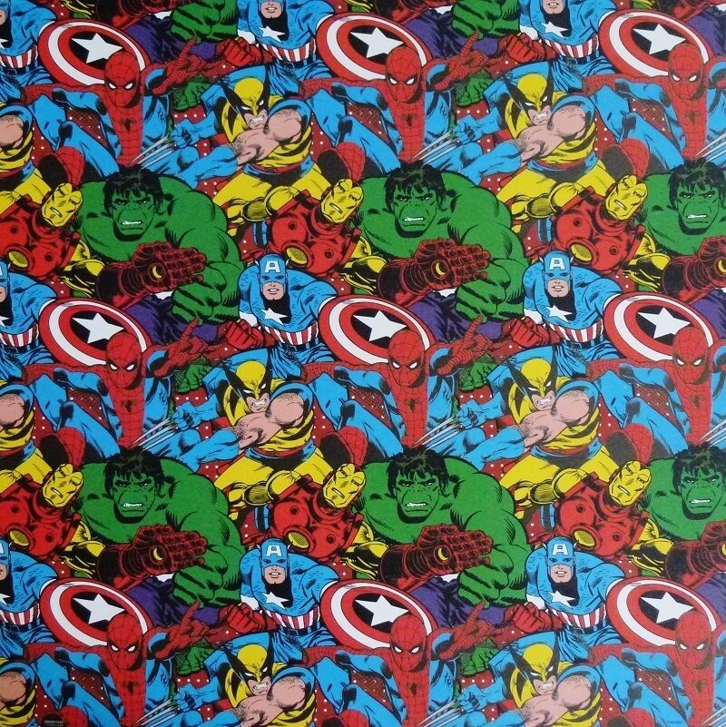 marvel comics scrapbook paper pad 120 sheet spider man hulk captain