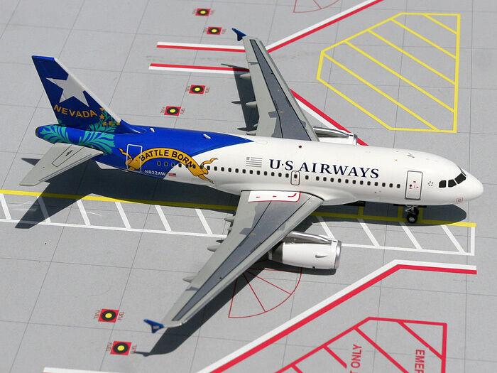 Gemini Jets 200 ScaleUS Airways A319 A319 A319  Nevada G2USA158 28a2d1