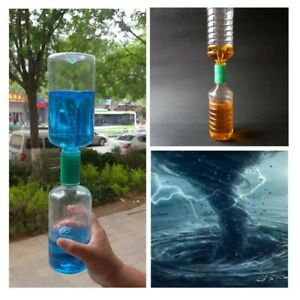 Cyclone Tube Tornado Vortex in a Bottle Water Magic Science