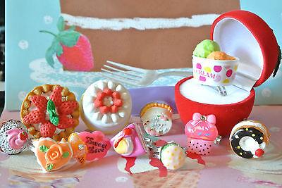 Kuchen Ring Cake Pop Food Decora Kei Gothic Sweet Lolita Muffin Harajuku Cosplay