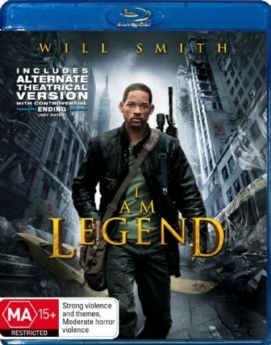 1 of 1 - I Am Legend (Blu-ray, 2008)New, ExRetail Stock (D131)