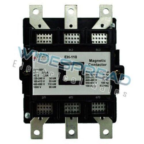 EH-110-30-22AS ABB EH Series Contactor 100HP Max 140A 480V Coil