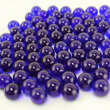 Vase Fillers, Glass Marbles, Gem Marbles. 5 bags (1-lb/bag). Color: Cobalt Blue
