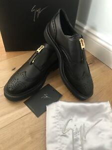 Eu 7 New Rrp£595 Shoes Manuel Zip Uk Brogue Zanotti Fastening Giuseppe Womens 40 0CvRSxq