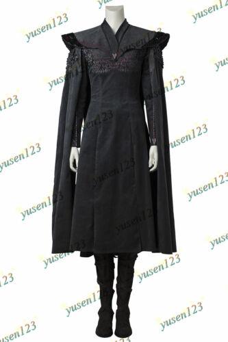 Game of Thrones Vol.7 Daenerys Targaryen Halloween Cosplay Suit Fancy Dress