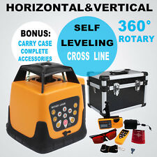 500m 360 Automatic Self Leveling Rotary Rotating Red Laser Level Kit With Case