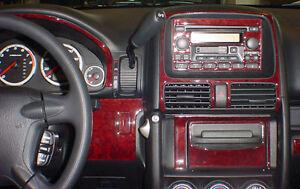 Honda Crv Cr V Lx Ex Ex L Se Interior Wood Dash Trim Kit Set 2003