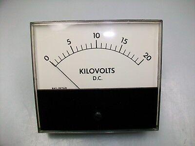 PHAOSTRON 0-20 Kv Panel METER Dc