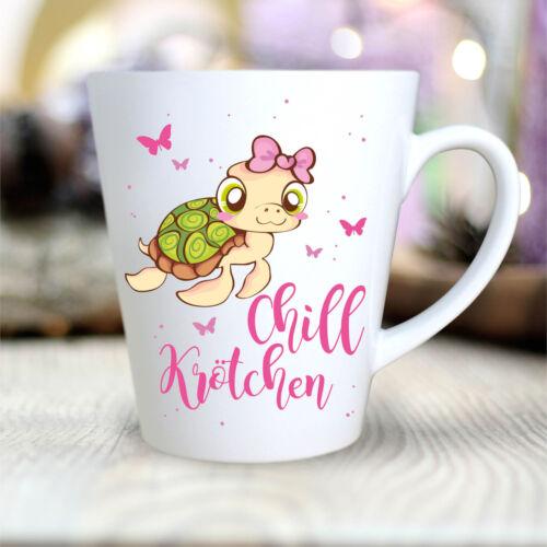 TK101 Kaffee Tasse Chill Krötchen Schildkröte Büro Geschenk  Kaffeetasse Tee