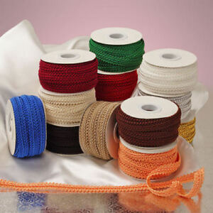 Details about 10pk Wholesale GIMP TRIM 25 yards Roll Sewing Trim Finishes  Crafts Supplies LOT