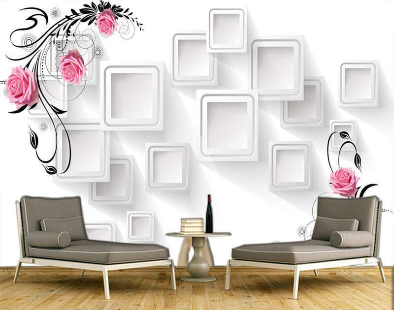 Religious Pure Lily 3D Full Wall Mural Photo Wallpaper Printing Home Kids Decor