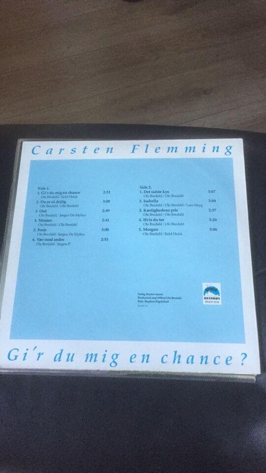 LP, Carsten Flemming, Gir du mig en chance