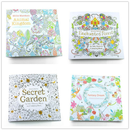 24 Pages English Edition Coloring Book Painting Drawing Book For Baby Children