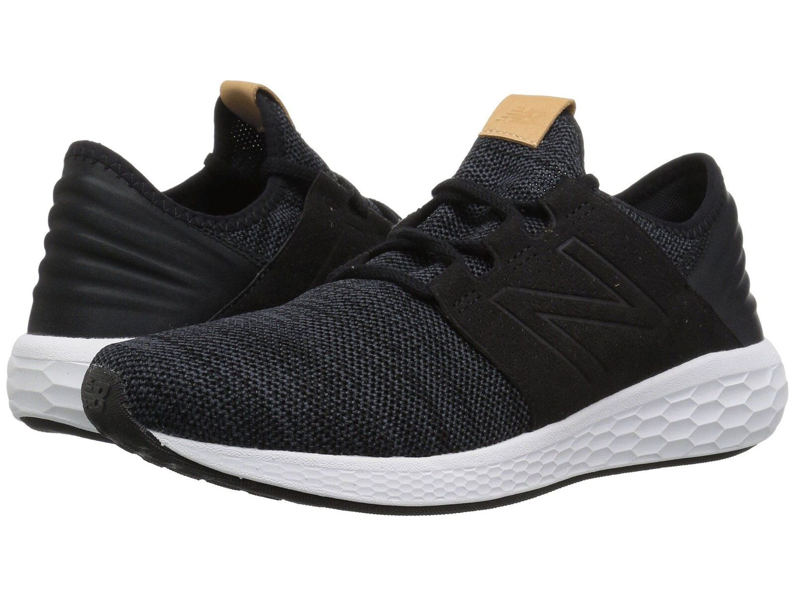 New New New Balance Fresh Foam Cruz v2 Knit MCRUZKB2 Black Men's Running shoes 95fea9