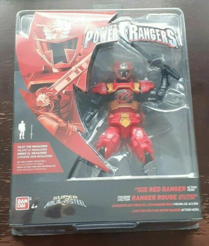 Power Rangers Super Ninja Acier-Choisissez votre Figure-New /& Sealed-Free p/&p