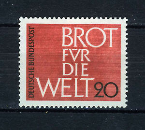 ALEMANIA/RFA WEST GERMANY 1962 MNH SC.854 Bread for the world,Protestant Church