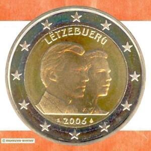 Sondermuenzen-Luxemburg-2-Euro-Muenze-2006-Guillaume-Sondermuenze-zwei-Gedenkmuenze