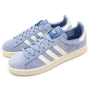 Details about adidas Originals Campus W Ash Blue White Women Casual Shoes  Sneakers B37936