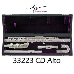 Trevor James Alto Flute   Straight and Curved Headjoint   33223CD