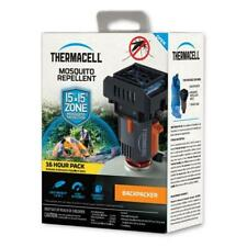 16 Hours 4Mats Included Thermacell MR-BPR Backpacker Mosquito Repeller Gen 2.0