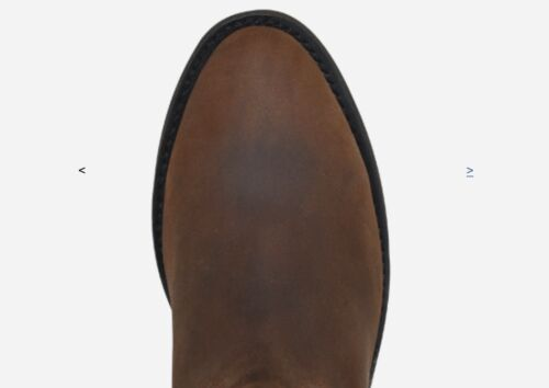 MEN ESTABLO ROPER LEATHER BOOTS DRESS OR FOR WORK BOOTS 4 Colors To Choice