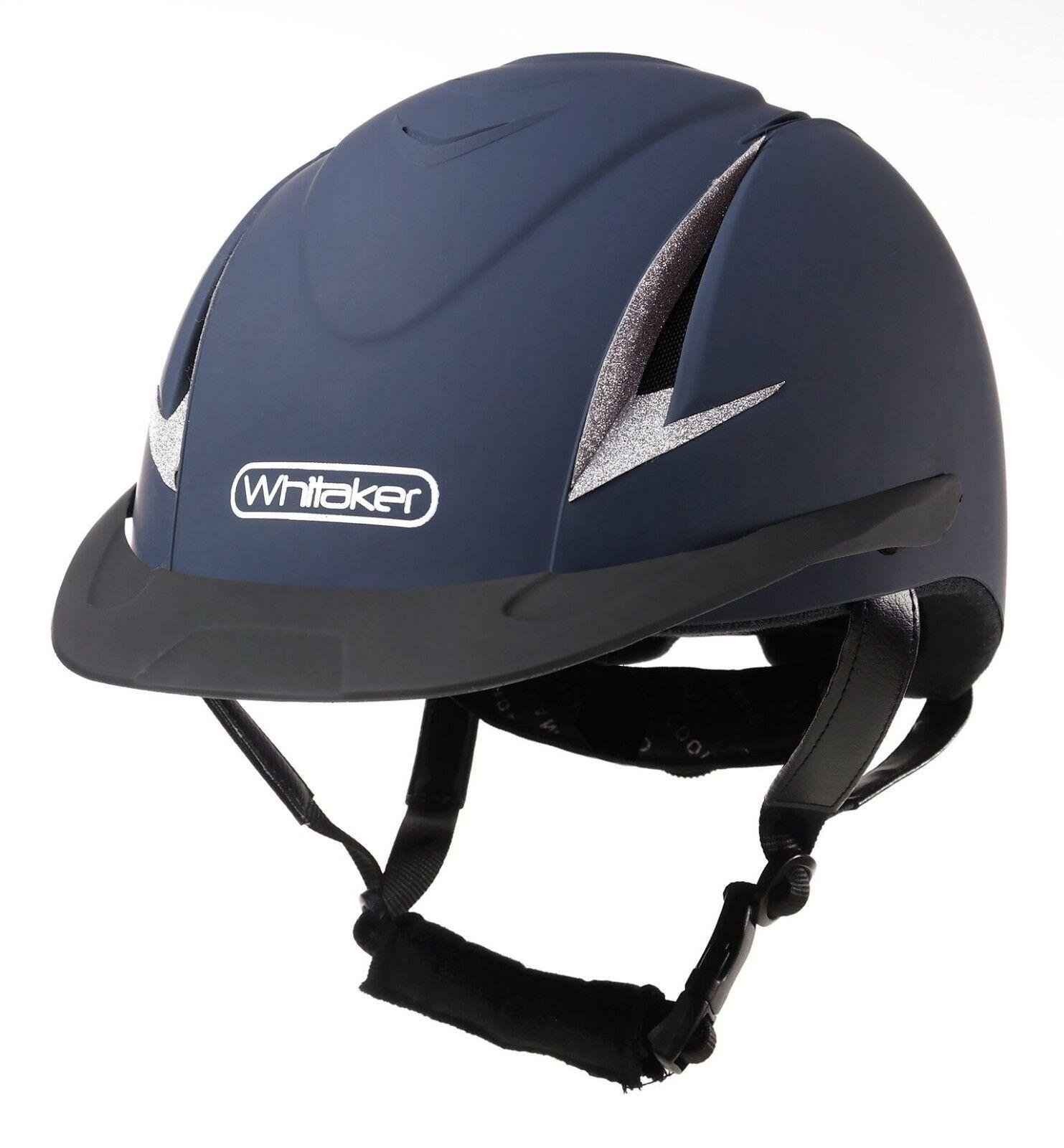 Johnwhitaker NRG Rider Generation Corsa Casco  Cappello  da Gara Approvato