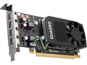 PNY Quadro P600 VCQP600-PB 2GB 128-bit GDDR5 PCI Express 3 ...
