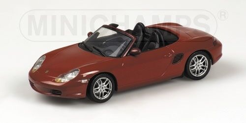 Porsche Boxster 2002 rouge Metallic 1 43 Model MINICHAMPS