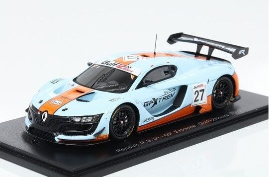 S3844 SPARK 1:43 Renault R.S.01  27 GP Extreme GulF12H 2017