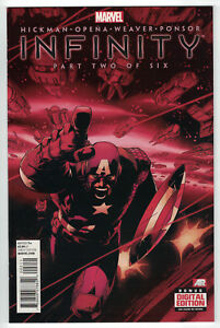 Infinity-Part-2-Two-of-6-Six-Adam-Kubert-Thanos-Marvel-2013-High-Grade-Unread