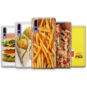Details about JUNK FOOD PHONE CASE PIZZA BURGER POTAOE FREE WRAP COVER FOR HUAWEI P20 P30 P10