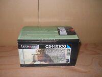 Sealed Genuine Lexmark C544x1cg Cyan Extra High Yield Toner Cartridge C544