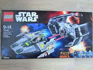 LEGO-set-75150-Star-Wars-Darth-Vader-039-s-TIE-Advanced-vs-A-Wing-DGSIM