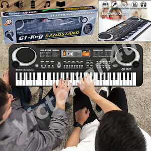 61-Keys-Digital-Electronic-Electric-Piano-Music-Keyboard-Organ-amp-Mini-Microphone