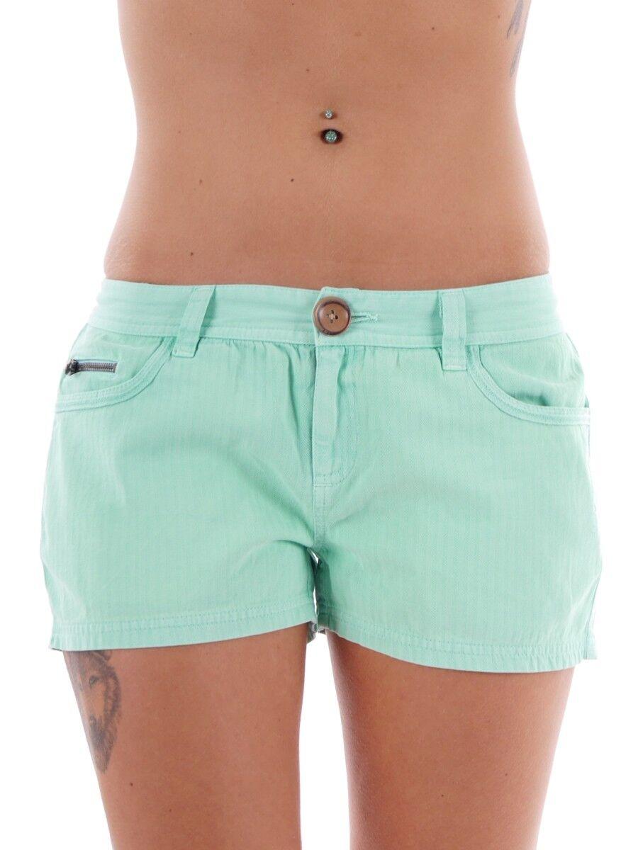 Brunotti Walkshort Sommerhose Panty green Gacerenzana Taschen Zipper