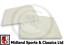 BEK327-Mgb /& MGC Roadster Puertas De Vidrio De Gota-Transparente-AHH6380 AHH6381