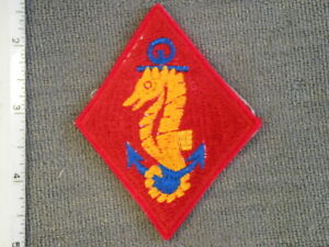 Dukw For Sale >> Early 1944 Marine Detachment Afloat embroidered on felt (white back) by NS Meyer | eBay